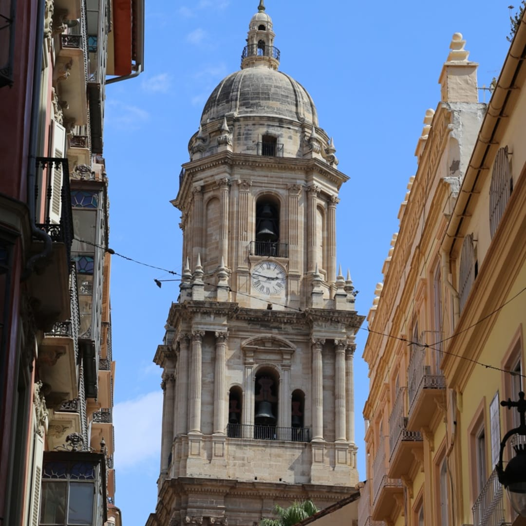 Cathedral Tower Malaga, Spain