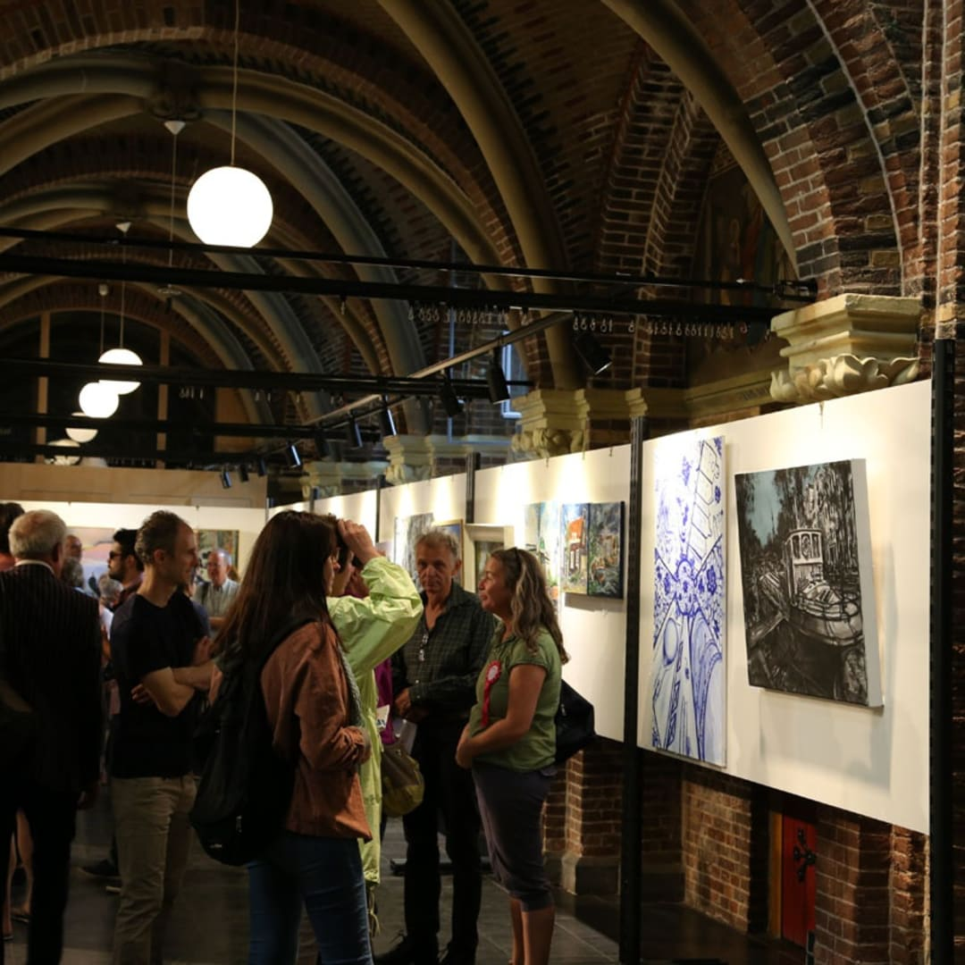 Gerard Byrne exhibiting at Pintar Rapido Amsterdam, Posthoornkerk, September 2016