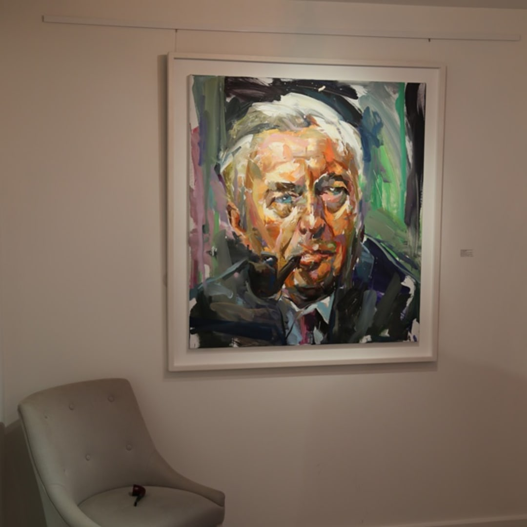 'Alzheimer in the Frame' private view at Gallery Elena Shchukina, Mayfair, London
