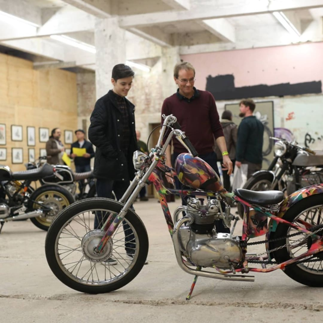 Revolution Motorcycle and Art Show, The Observer Building, Hastings