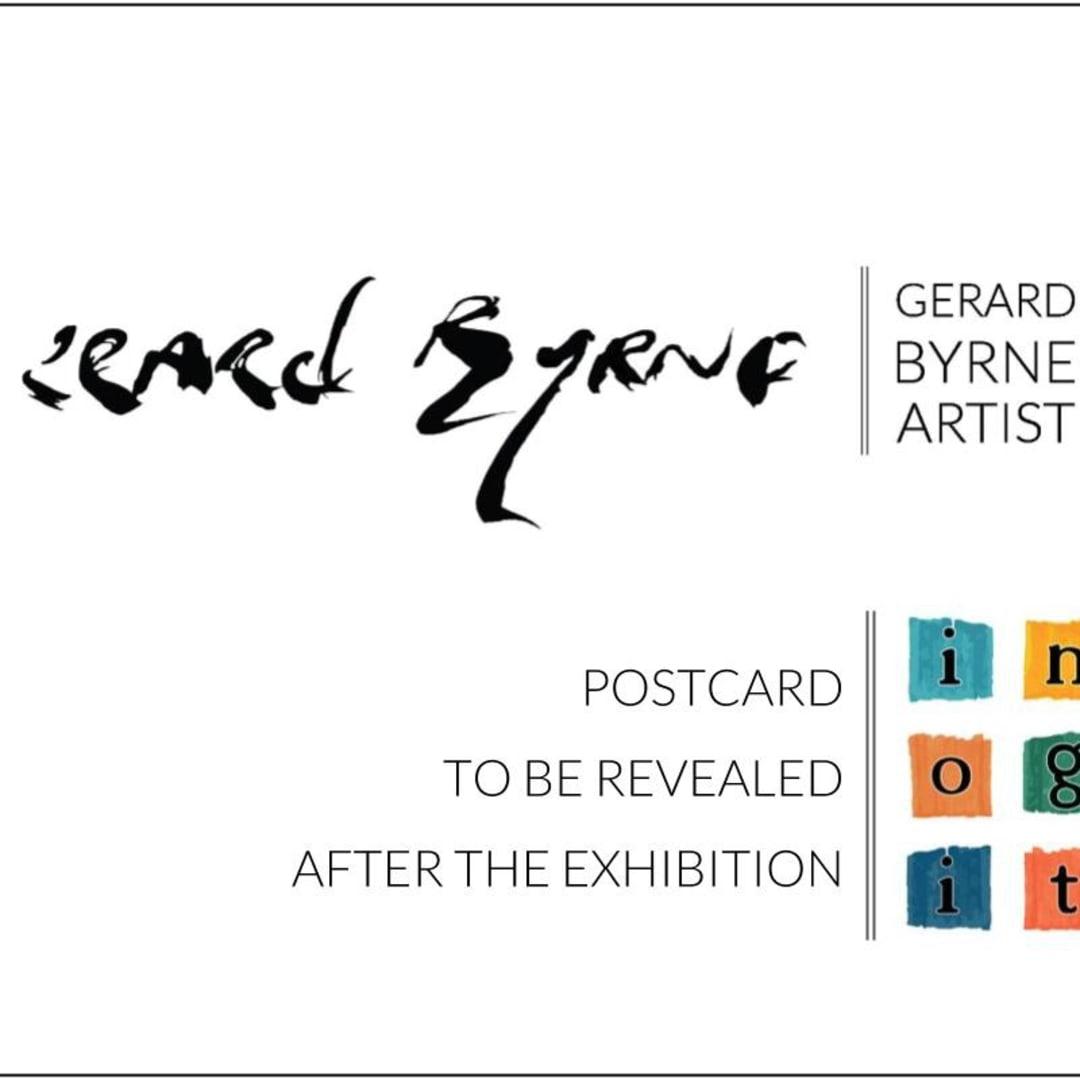 Gerard Byrne Incognito postcard No 1