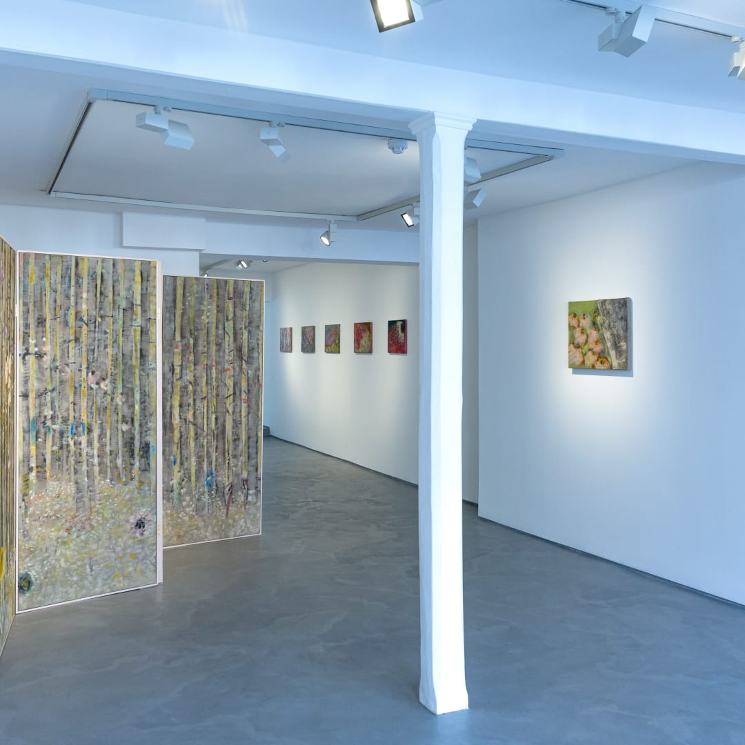 Diane Chappalley, Behind Closed Doors, Informality Gallery, Installation view, 2020. Image courtesy of Informality.