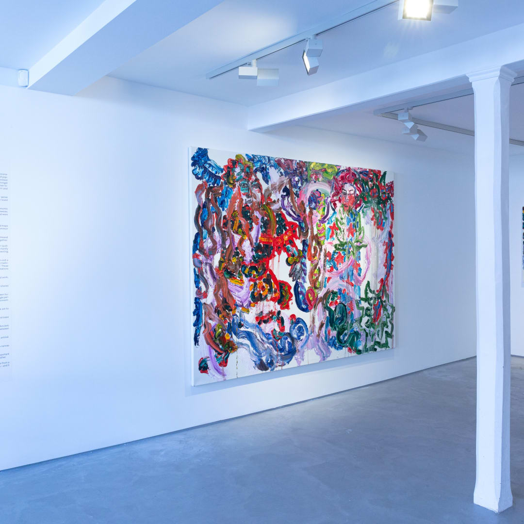 Chen Ping, Garden, Informality Gallery, Installation view, 2020. Image courtesy of Informality.
