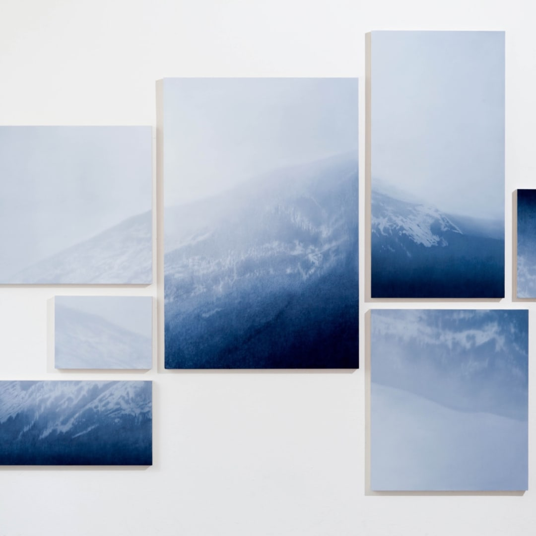 Rebecca Partridge, Mountain (fragments), 2015