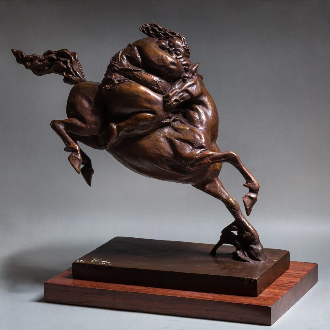 Xu Hongfei 許鴻飛,Horse Galloping馬上, 2014