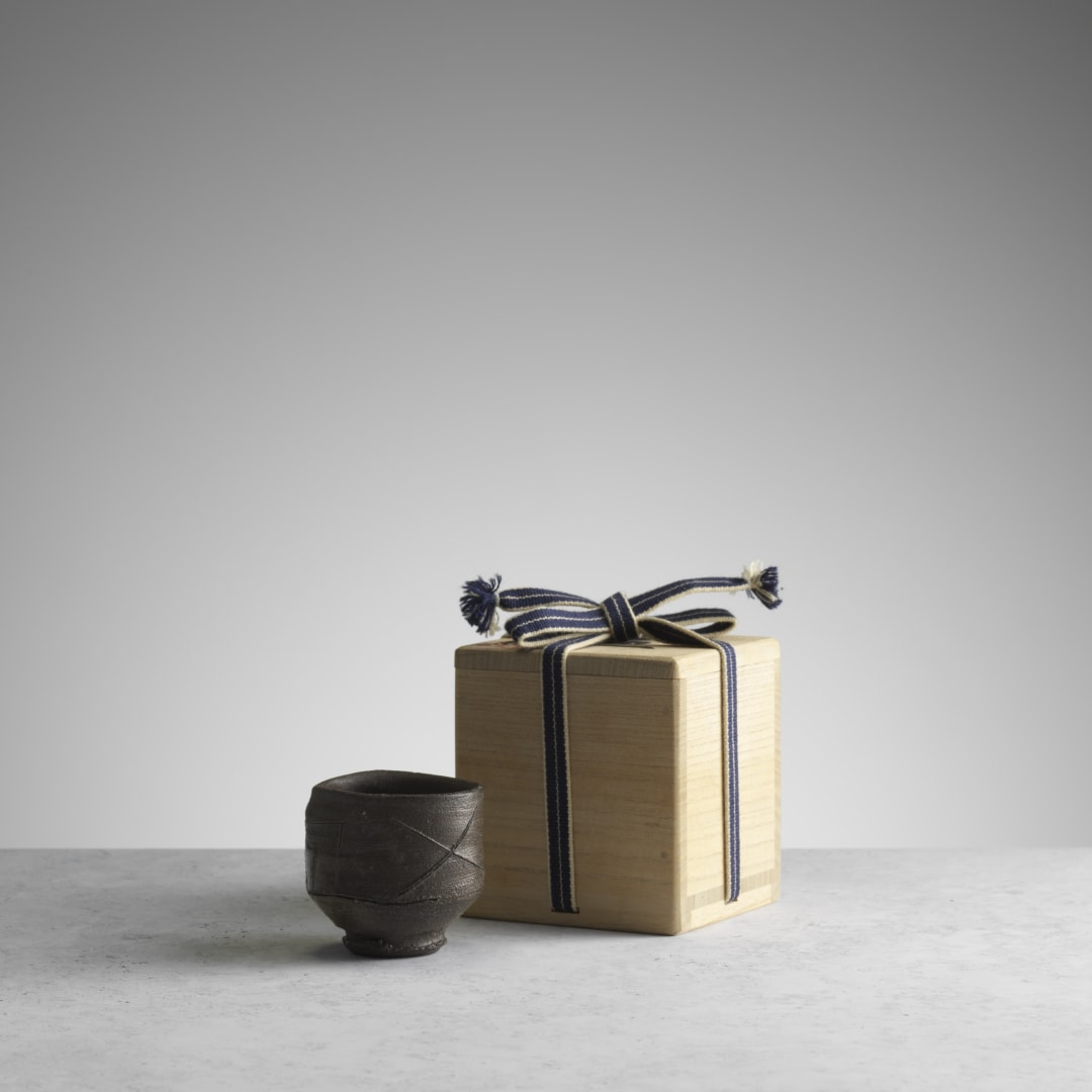 Sake cup, with signed fitted box (RK048) © Michael Harvey