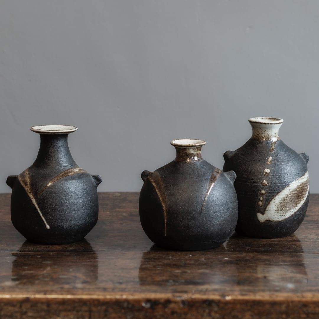 Three Vessels by Janet Leach