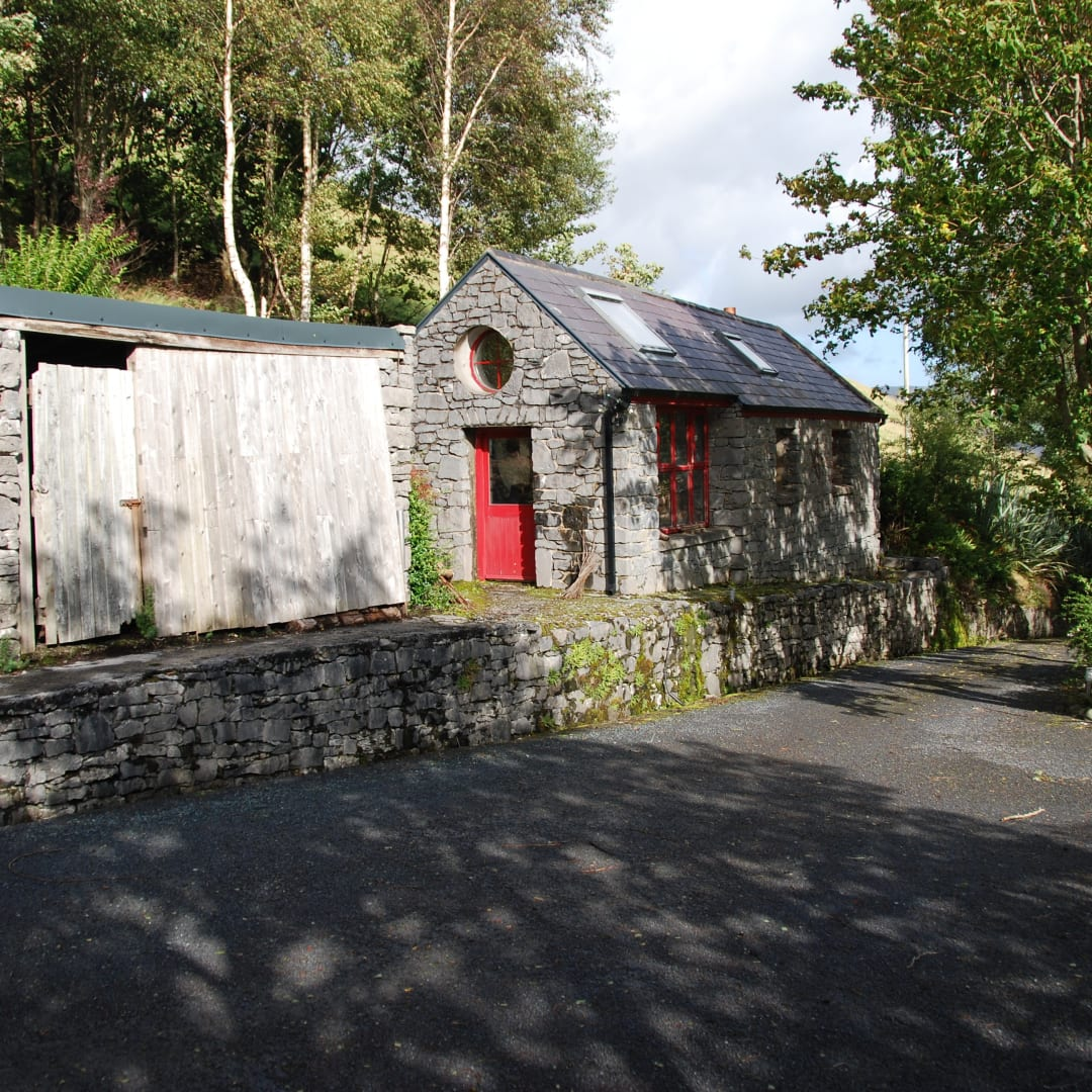 Hogan's workshop at Loch na Fooey