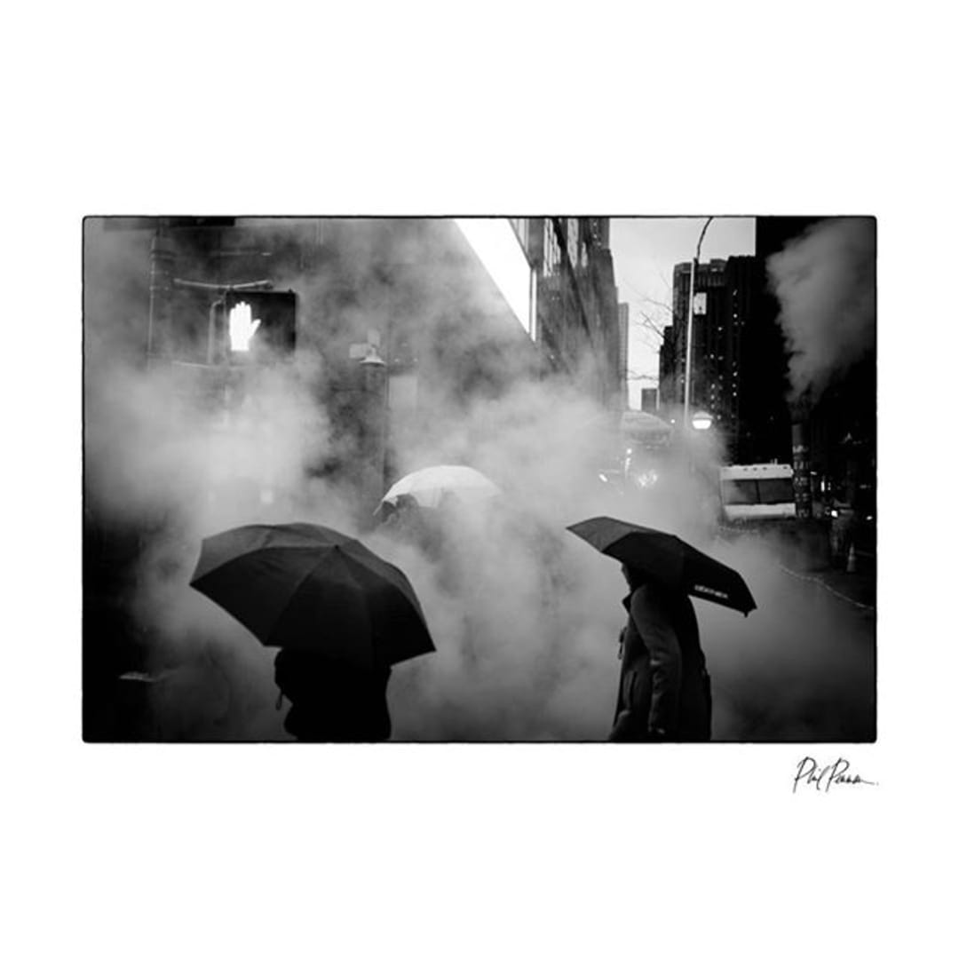 Photo by Phil Penman in New York, New York with @leica_camera, @umbrellaplanet, @streetumbrellas, and @streetphotographycollection. Image may contain: one or more people, outdoor and text