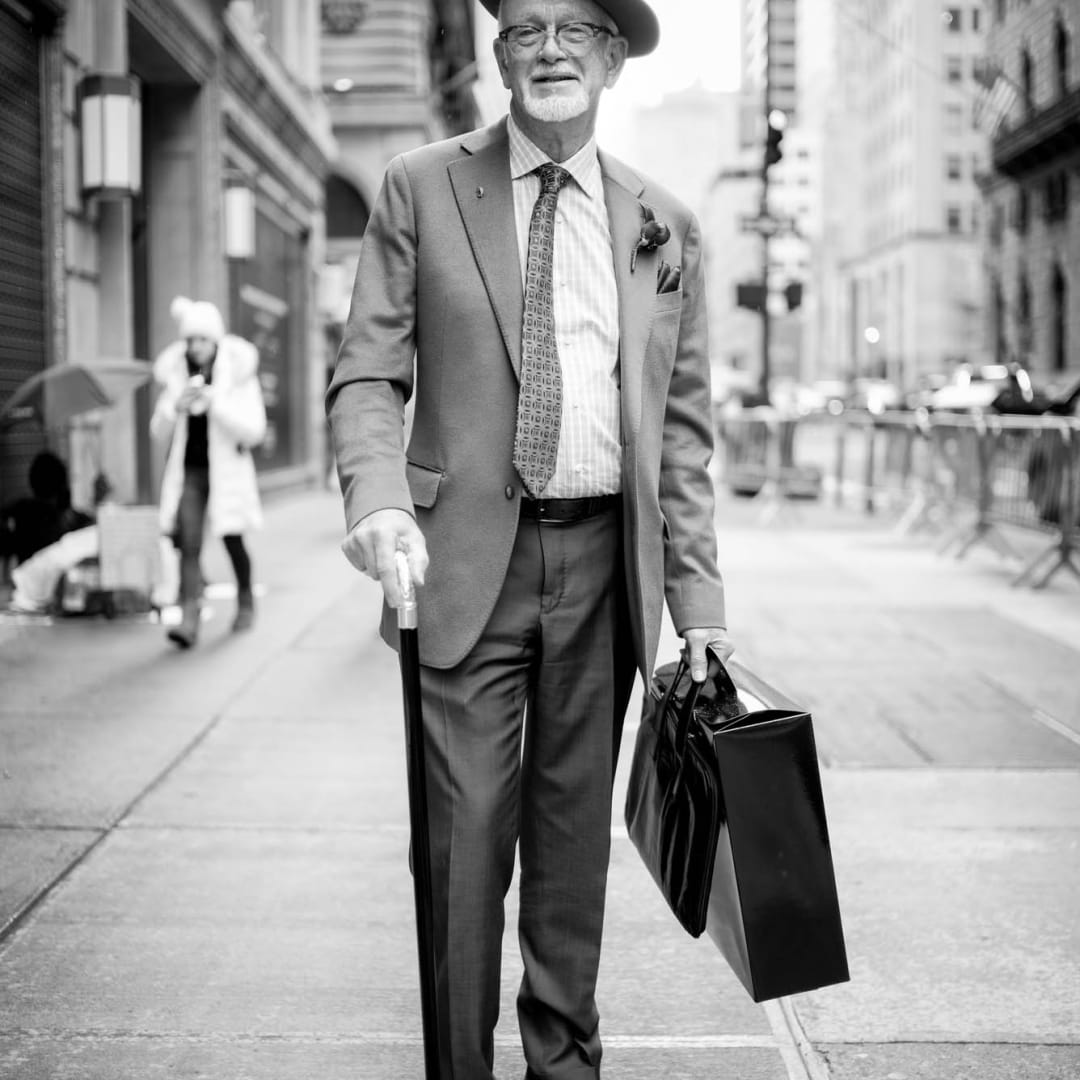 Man on 5th Avenue