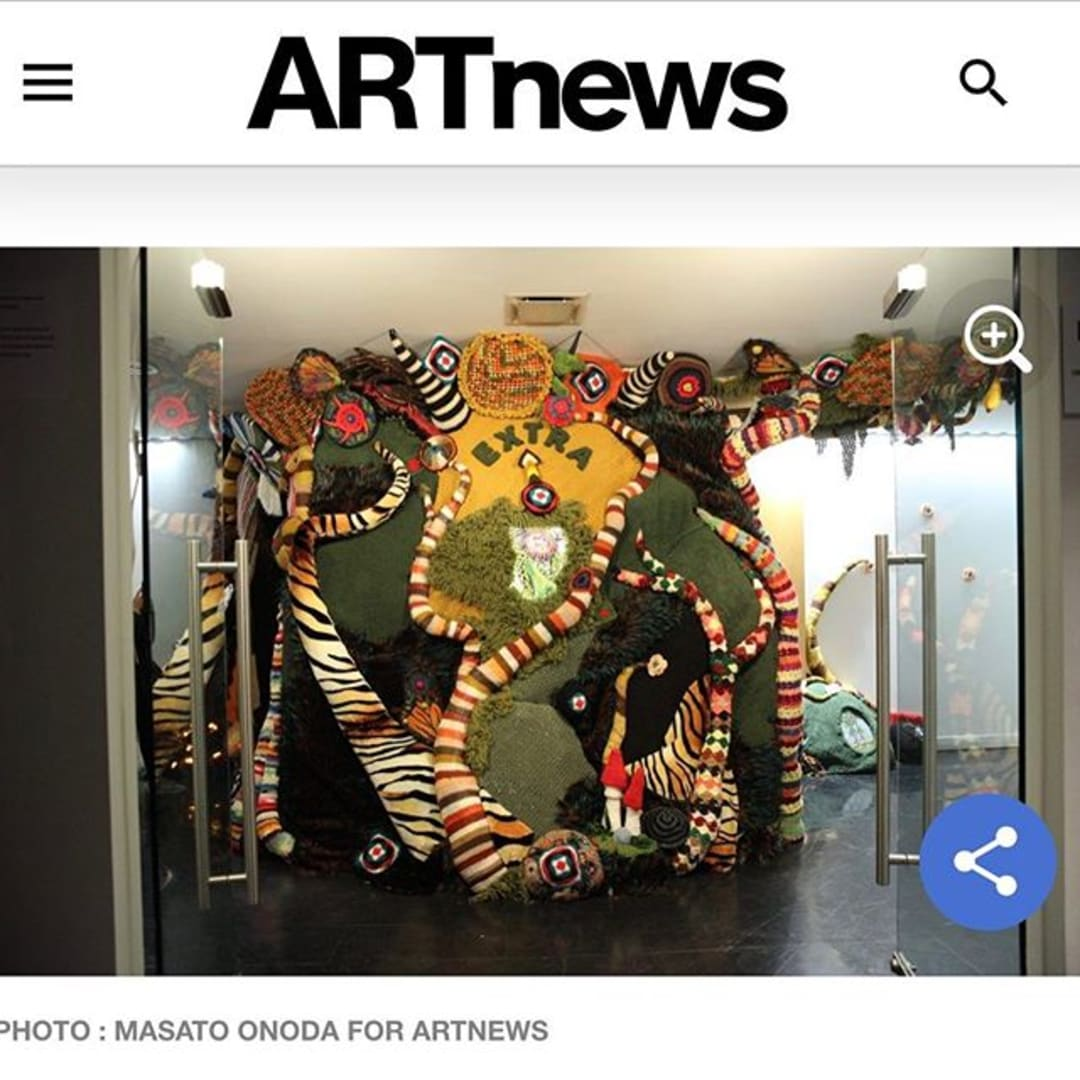 Photo shared by Sidel & McElwreath on March 04, 2020 tagging @claireselvin, @springbreakartshow, and @artnews.