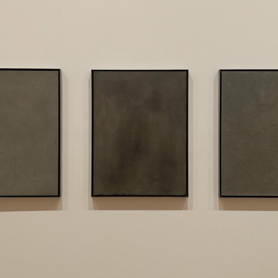 Julia Morison, Monochromes in Liquefaction I – X, 2011