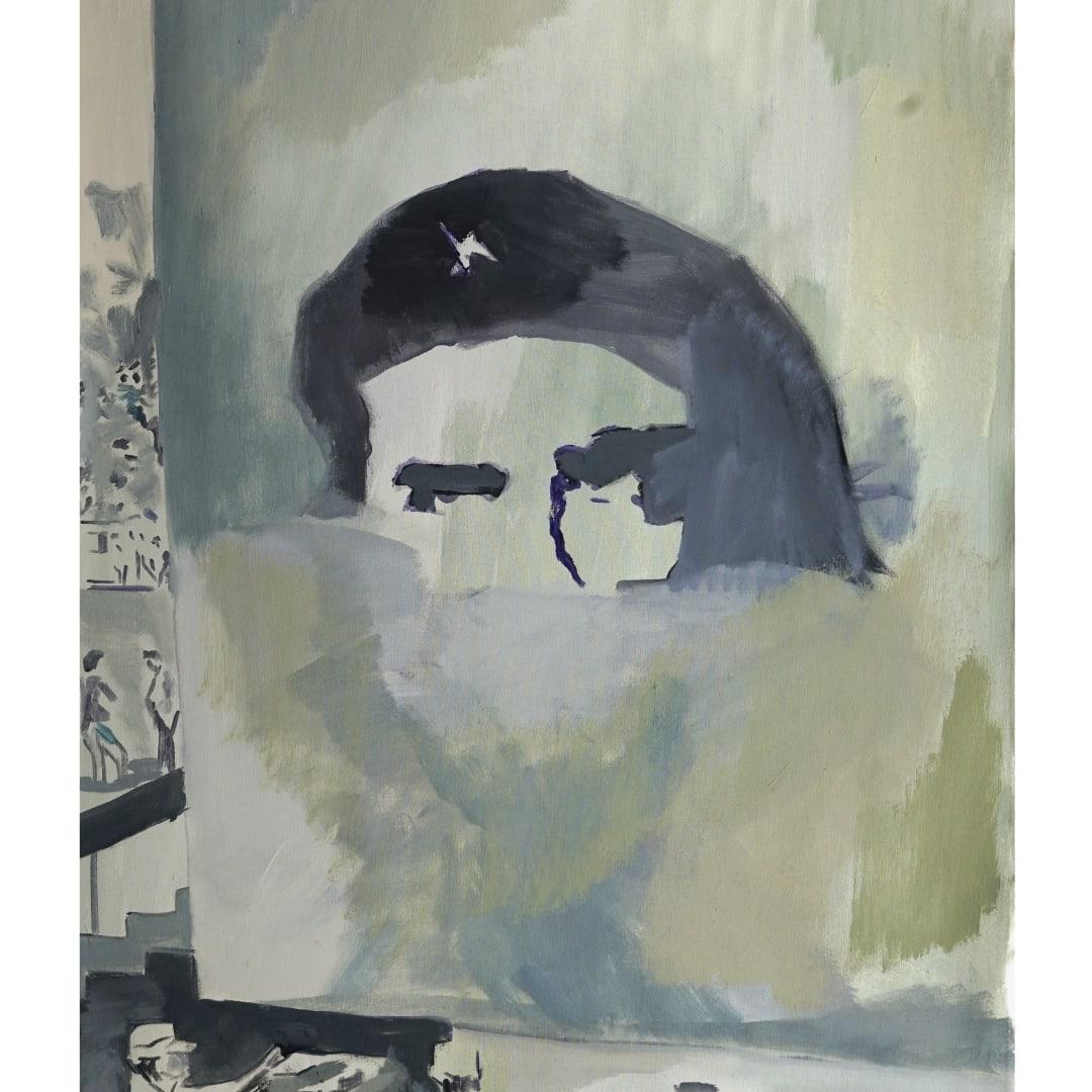 Fernando Nureña, Sin titulo (Mural San Marcos, W Silvera. 1991), 2021