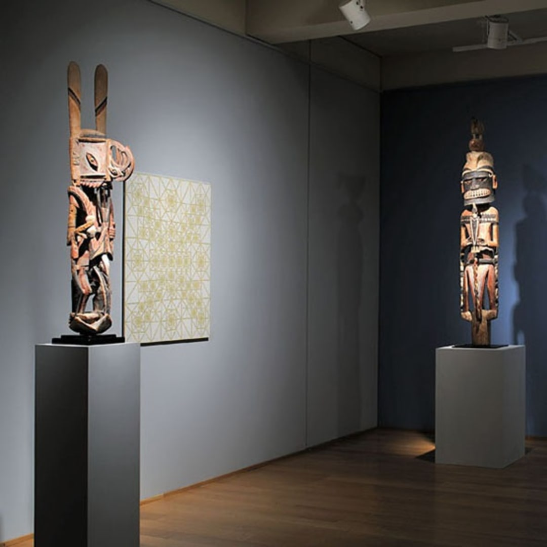Patterns Connect: Works by James Siena and Tribal Art | May–June, 2009