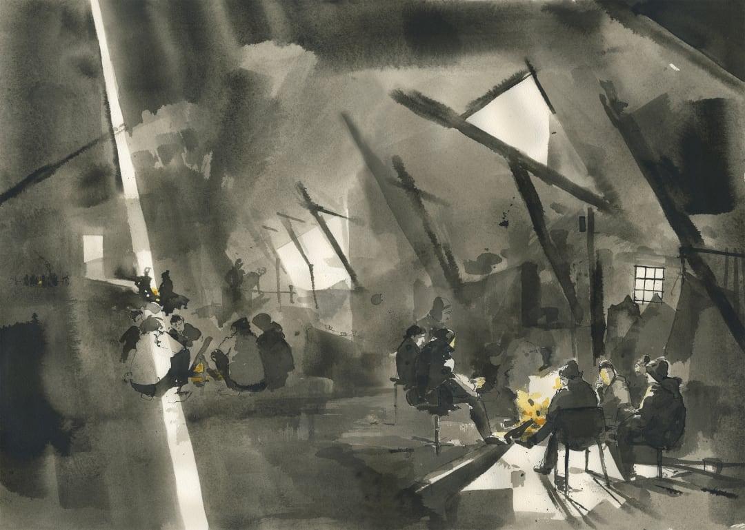 GEORGE BUTLER, Anima Mundi: Drawn Stories of Migration