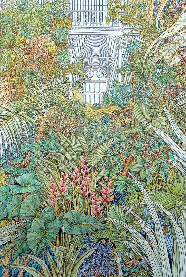Meg Dutton RE, Inside the Glasshouse