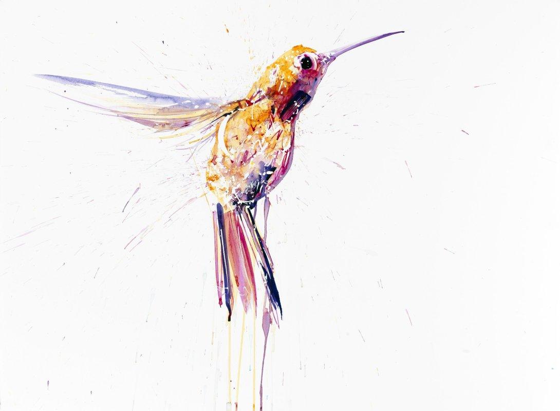 Humming Bird I (Pink)