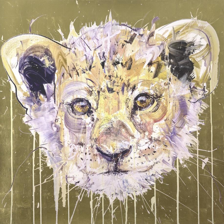 Lion Cub Gold Leaf