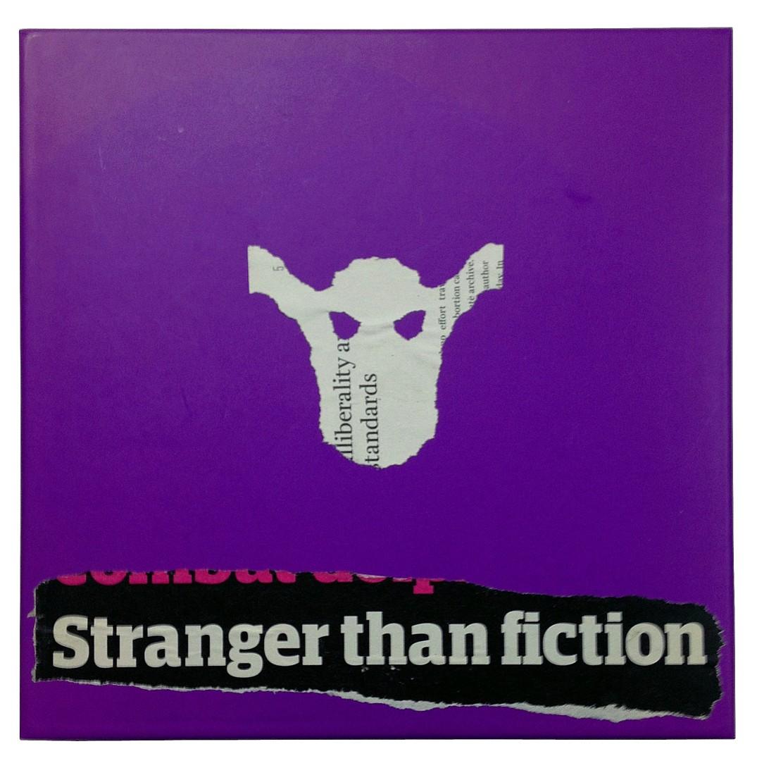 Hans Stofer, Stranger Than Fiction, 2015, Drucksachen, Plexiglas