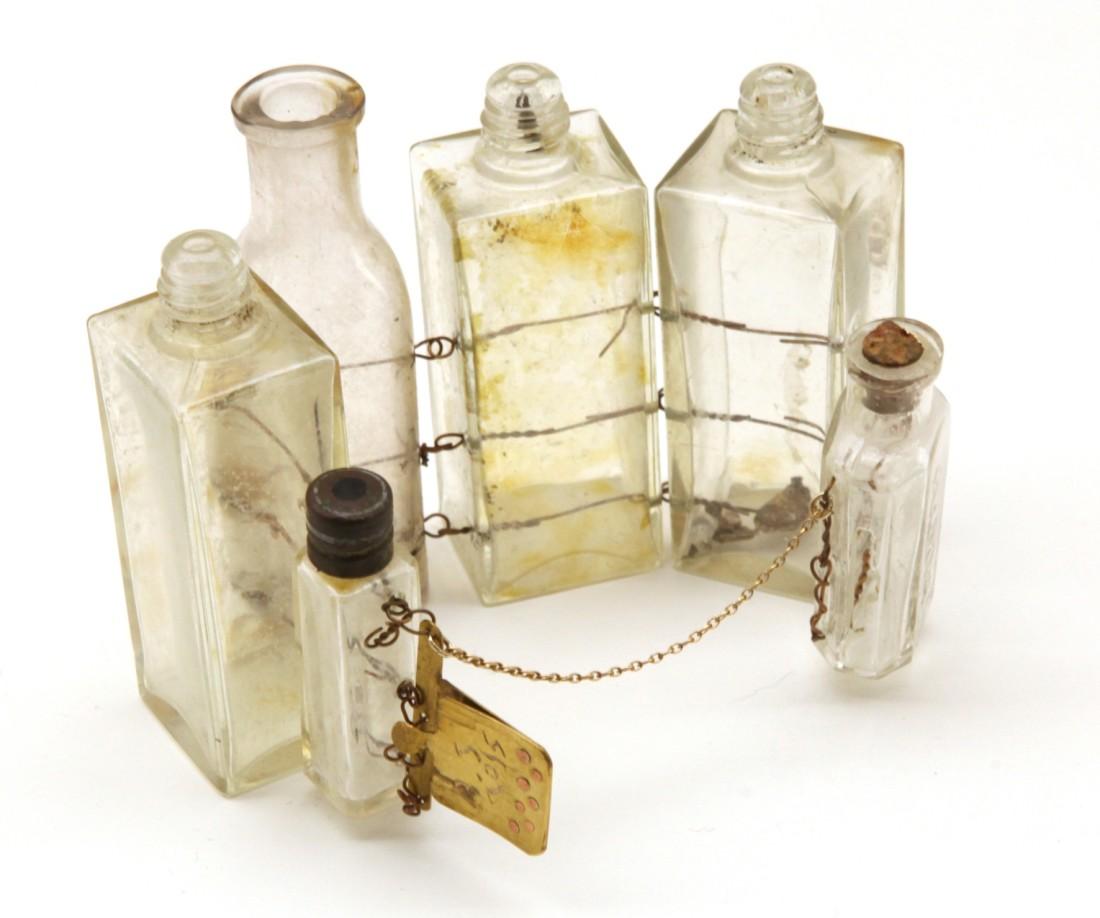 Bernhard Schobinger, Bracelet, 2015 Glass, Copper, Brass
