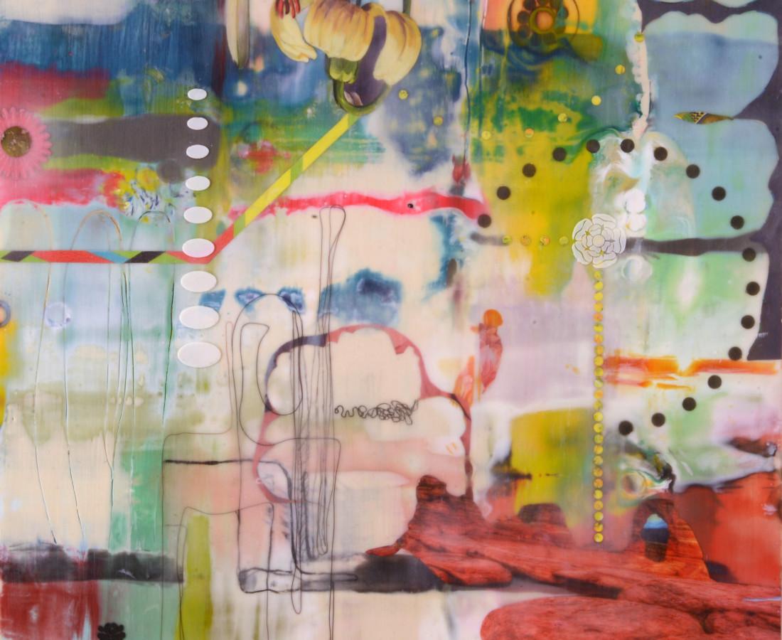 Lorraine Glessner, Desert Moon, 2015