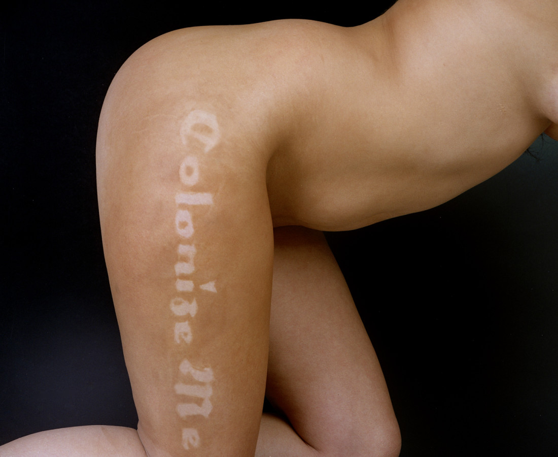 Erica Lord, Untitled (Colonize Me) - from The Tanning Project, 2005