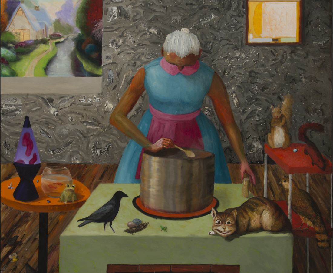 Katherine Ace, Making Soup, 2016
