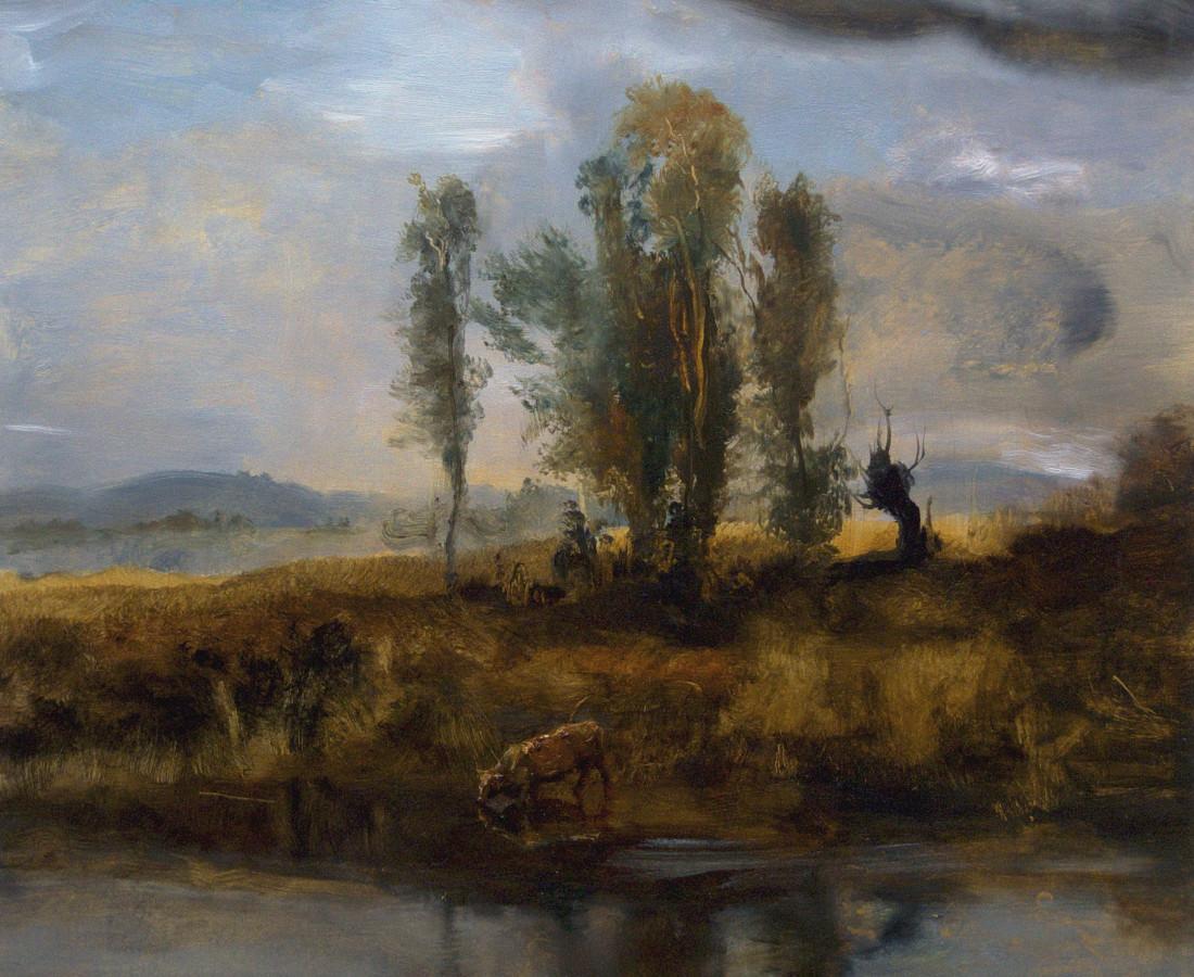 Kevin Kadar, Riverscape II, 2018