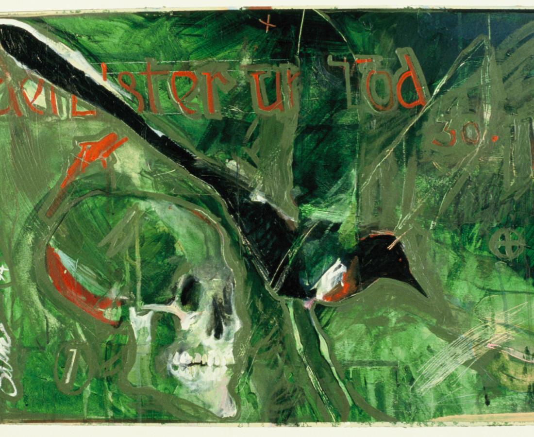 Rick Bartow, Der Elster Und Tod, 1994