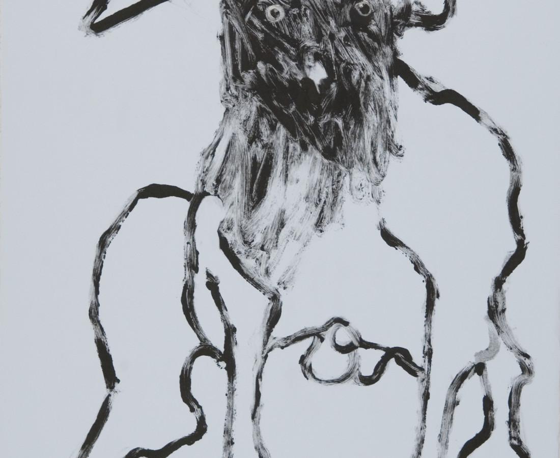 Rick Bartow, Untitled, 2002