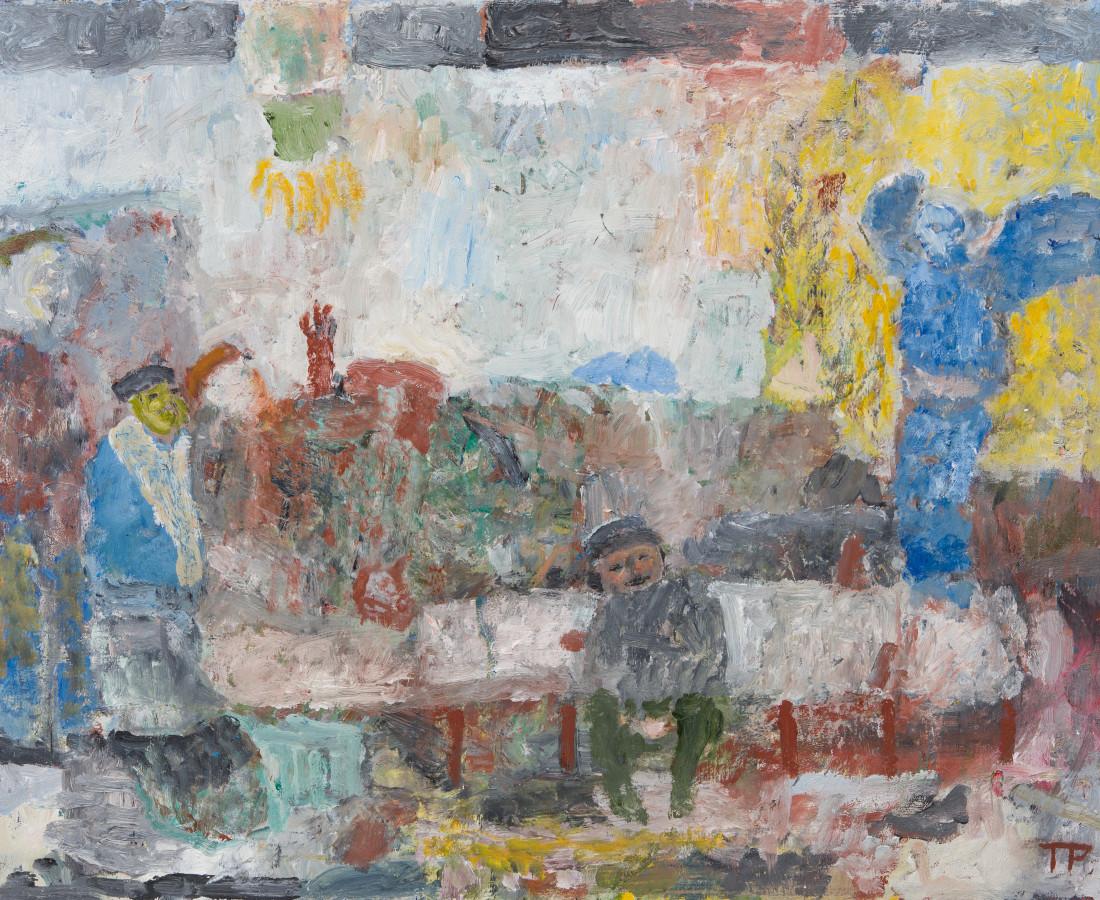 Tom Prochaska, Blue Angel, 2017