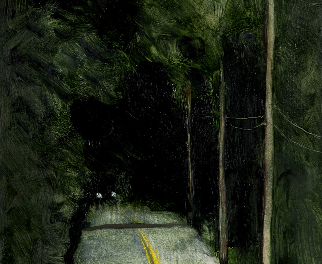 Suzy Murphy, The Green Darkness (Study), 2017
