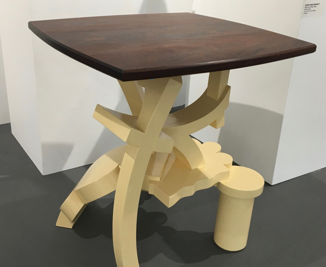 Garry Knox Bennett, Brown and White Table