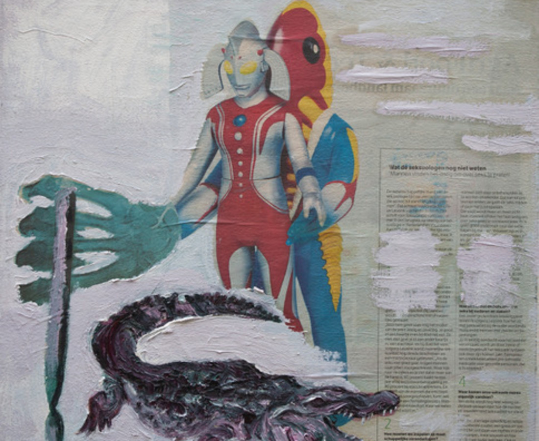 Rob Visje, Crocodile and Human sexuality, 2019
