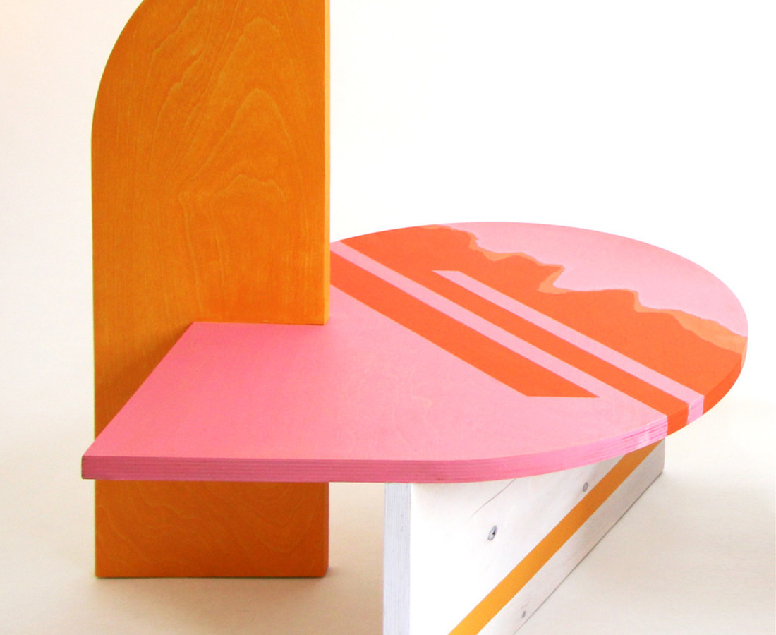 Colette Vermeulen, Side Table Pink, 2019