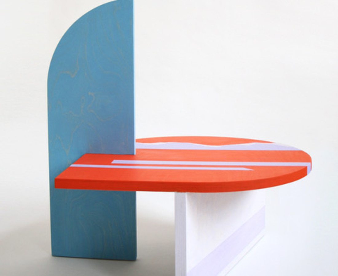Colette Vermeulen, Side Table Red, 2019