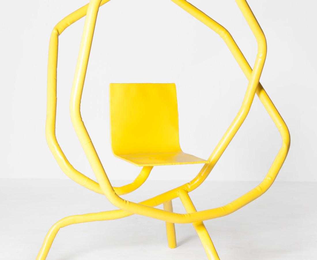 Bart Eysink Smeets, Yellow rocking chair