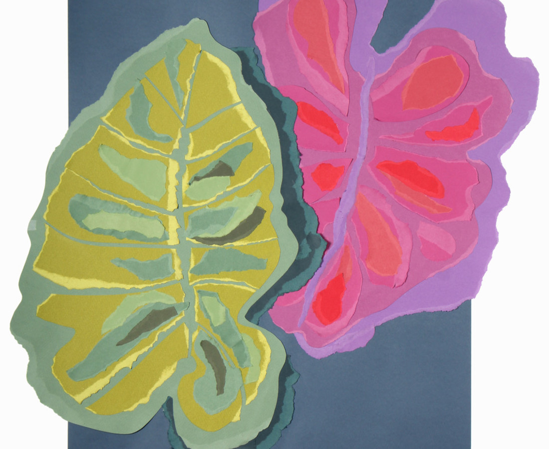 Colette Vermeulen, Philondendron Leaves, 2019