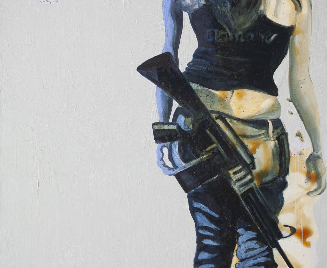 Rob Visje, Woman with gun special , 2017