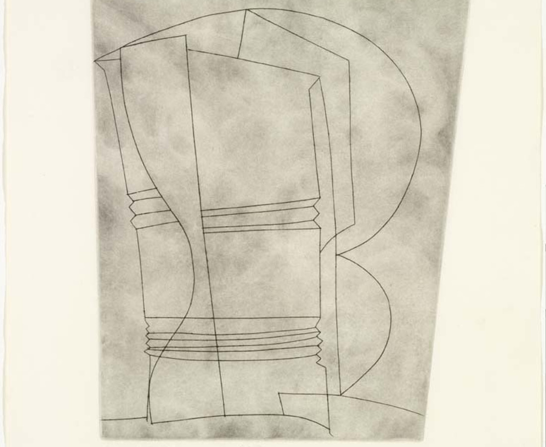 Ben Nicholson, Still Life with Curves, 1966
