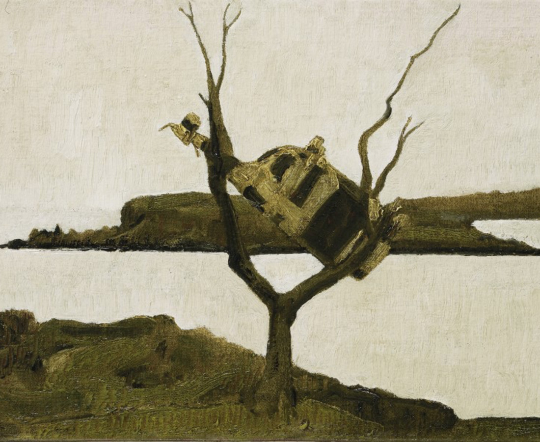 John Kelly, Cow up a Tree, South Reen II, 2017
