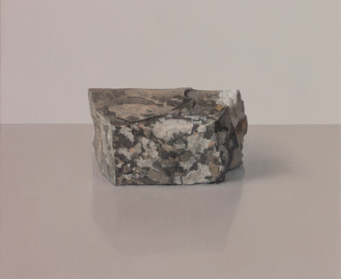 Comhghall Casey, Rock with Lichen III, 2019