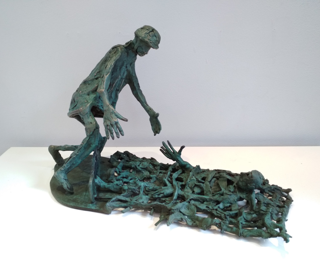 John Behan RHA, Rescue at Sea, 2018