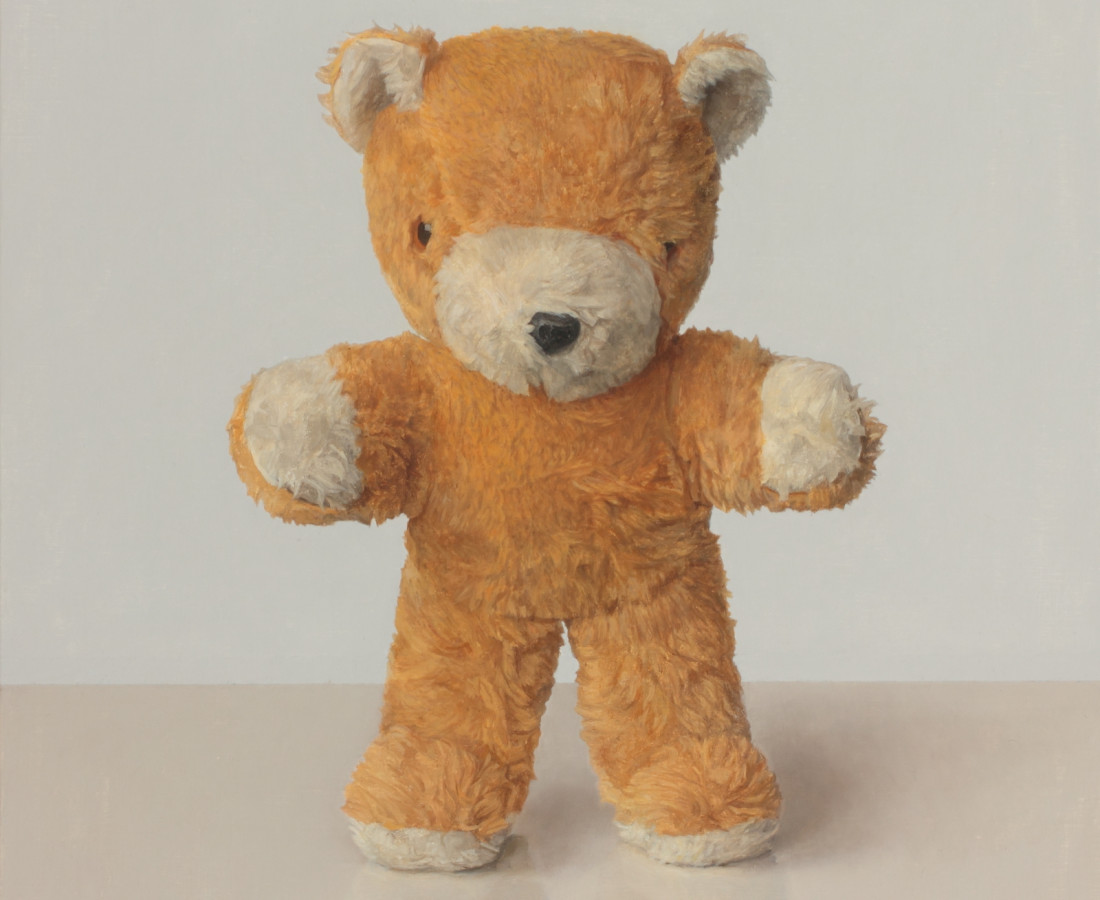 Comhghall Casey, Toy Bear (Standing)