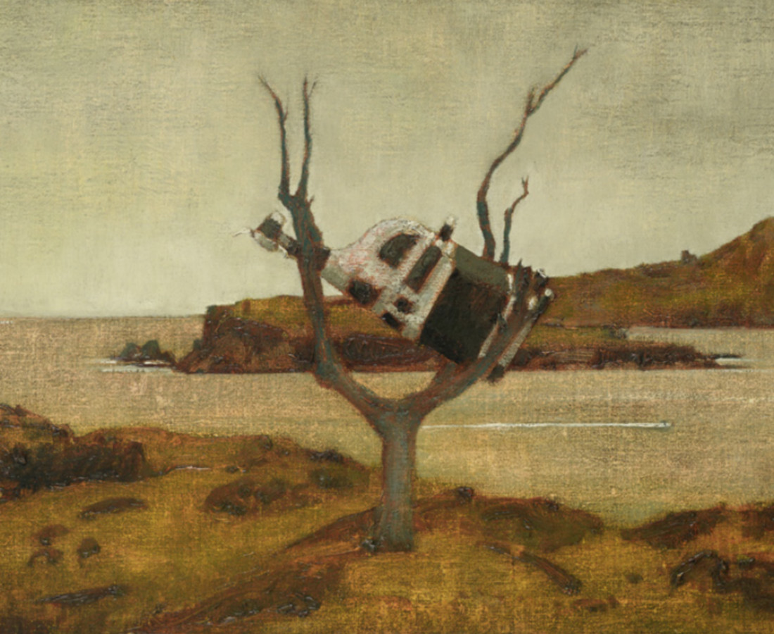 John Kelly, Cow up a Tree, South Reen III, 2017