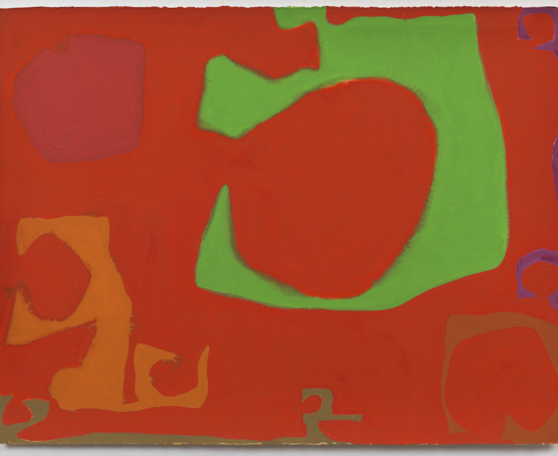 Patrick Heron, Number Three: August 1970, 1970