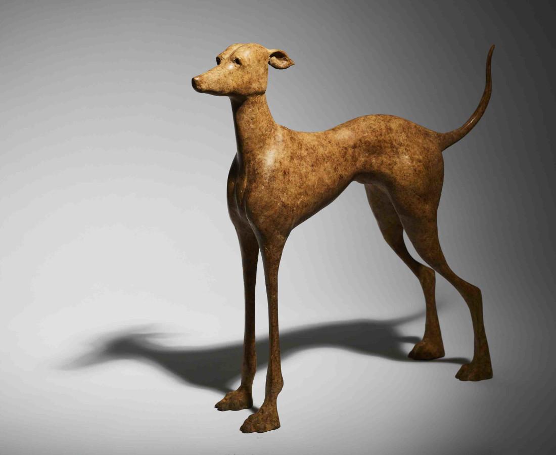 Anthony Scott RUA, Tuireann, Standing Greyhound