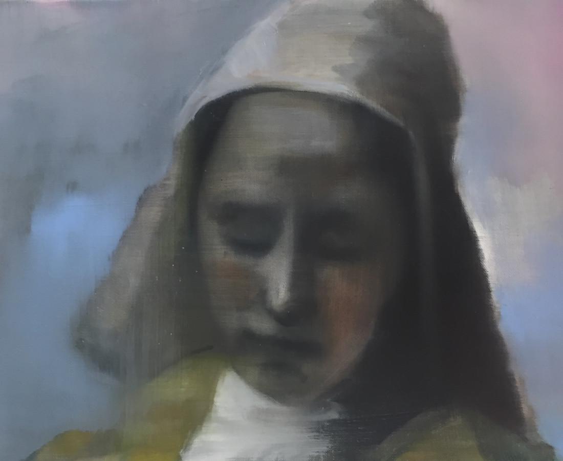 Helen O'Sullivan-Tyrrell, Vermeer's Milkmaid/ Melkmeisje van Vermeer