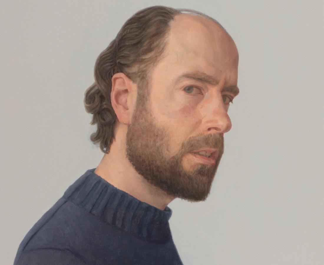Comhghall Casey, Self Portrait, 2017