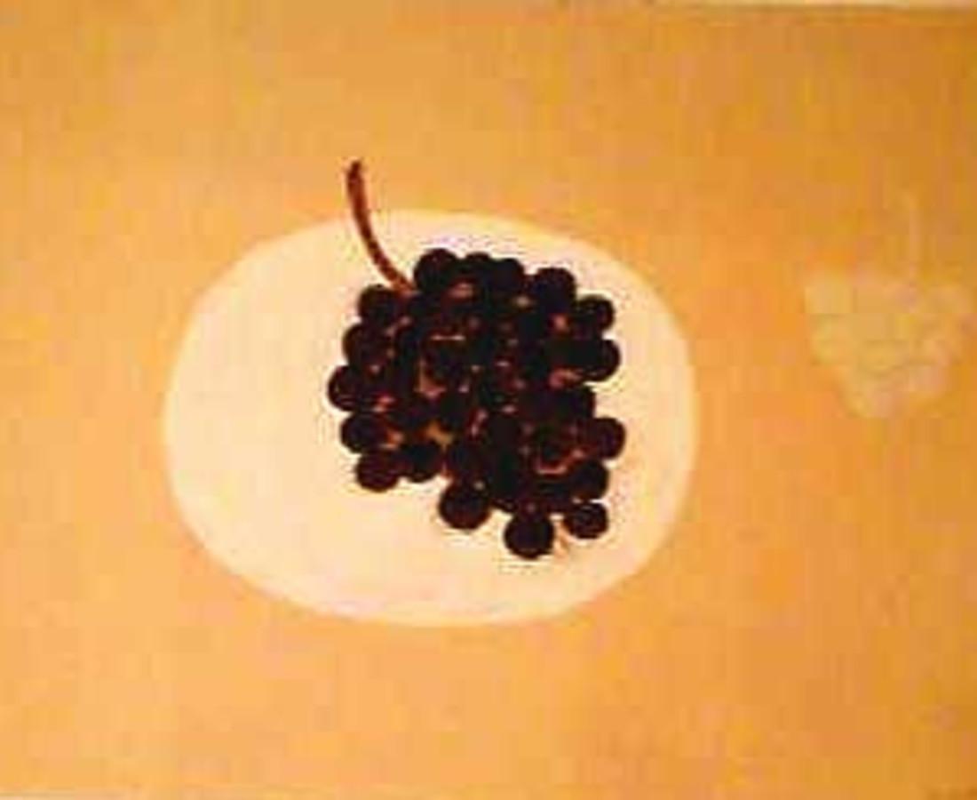 William Scott, Grapes, 1979